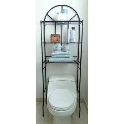 ATH Home Contemporary Bath Space Savers in Black