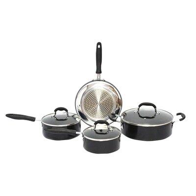 Gourmet Chef Nonstick 7 Piece Cookware Set