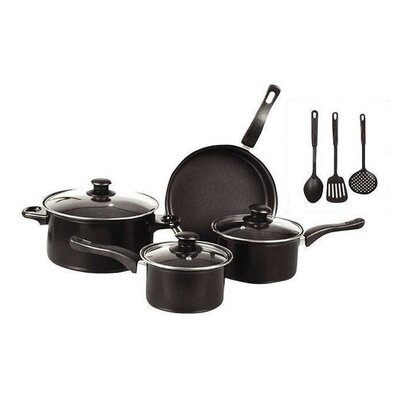 Nonstick 10 Piece Cookware Set by Gourmet Chef