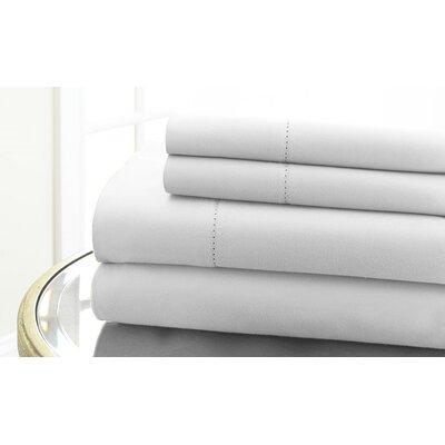 Regency Hemstitch 600 Thread Count 100% Cotton Sheet Set by Wildon Home ®