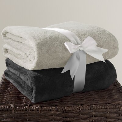 Solid Fleece Throw by Wildon Home ®