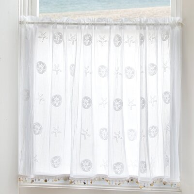 Sand Dollar Tier Curtain Product Photo