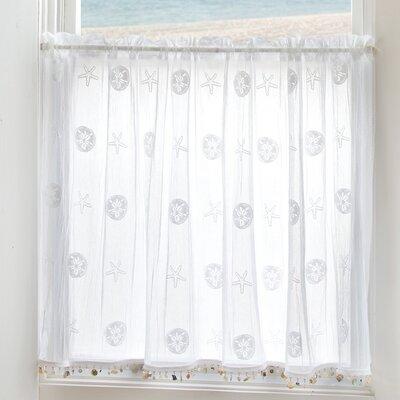 Sand Dollar Tier Curtain Product Photo
