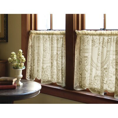 Victorian Rose Tier Curtain Product Photo