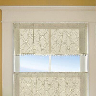 """Prima Eyelet 42"""" Curtain Valance Product Photo"""