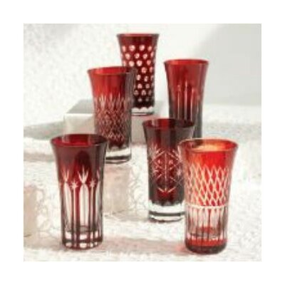 Hand-Etched Shot Glass by Tozai
