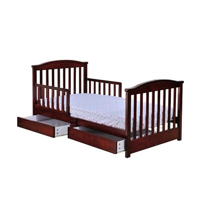 Dream On Me Mission Toddler Bed with Storage Drawer 651 N