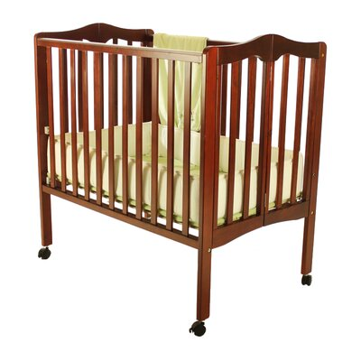 Lightweight 2-in-1 Portable Folding Crib by Dream On Me