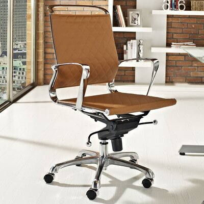Vibe Mid-Back Leather Office Chair by Modway