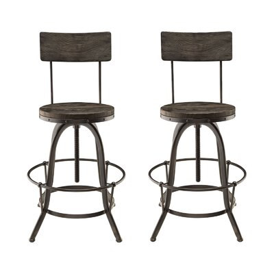 Procure Adjustable Height Swivel Bar Stool by Modway