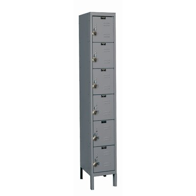Hallowell ReadyBuilt 6 Tier 1 Wide School Locker