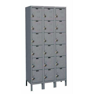 Hallowell ReadyBuilt 6 Tier 3 Wide School Locker