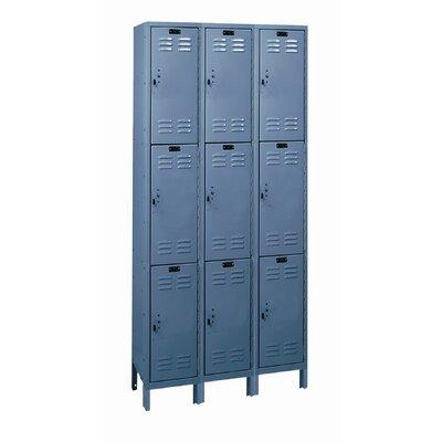 Hallowell Value Max 3 Tier 3 Wide School Locker