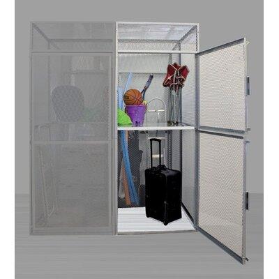 Hallowell Bulk Storage 2 Tier 2 Wide Adder Locker