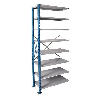 Hallowell H-Post High Capacity Open Style 8 Shelf Shelving Unit Add-on