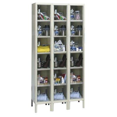 Hallowell Safety-View 6 Tier 3 Wide Plus Box Locker
