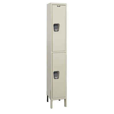 Hallowell Maintenance-Free 2 Tier 1 Wide Quiet Locker