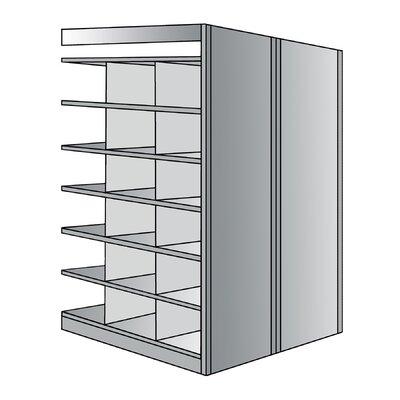 "Hallowell Deep Bin 87"" H 7 Shelf Shelving Unit Add on"