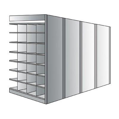 "Hallowell Deep Bin 87"" H 8 Shelf Shelving Unit Add-on"