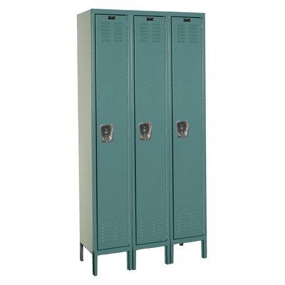 Hallowell Premium 1 Tier 3 Wide Knock-Down Locker