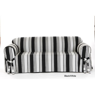 Stripe Duck Sofa Slipcover by Classic Slipcovers