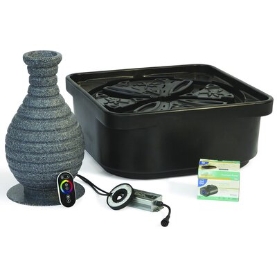 Atlantic Water Gardens 2.9 GPM Color Changing Vase Fountain Kit
