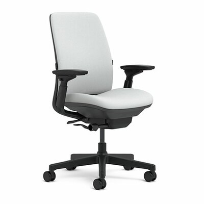 Amia Mid-Back Upholstered Work Chair by Steelcase