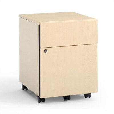 Steelcase 2-Drawer Mobile Classic Payback Box/File Pedestal