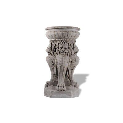 Amedeo Design ResinStone Victorian Lion Fountain / Urn