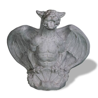 Amedeo Design ResinStone Winged Gargoyle Statue - Winged Gargoyle, with its muscular torso and medieval figure, is a wonder piece for any male wishing to show off some masculinity. Made out of endurable and resilient resin stone material