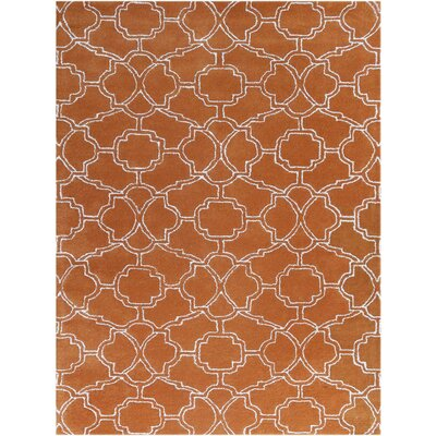 City Hand-Tufted Orange Area Rug by AMER Rugs