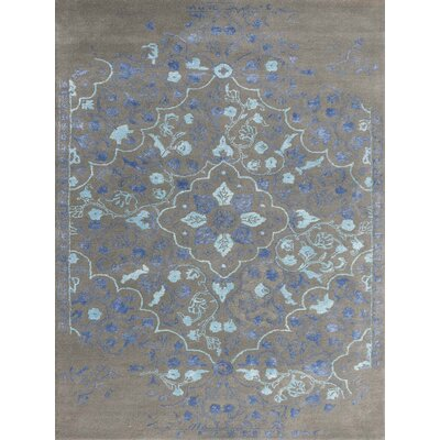 Artist Hand-Tufted Slate/Navy Area Rug by AMER Rugs
