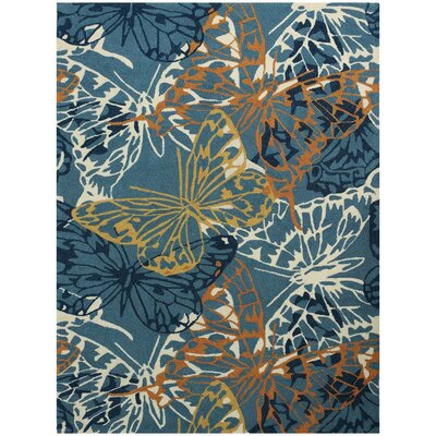 Piazza Blue Area Rug by AMER Rugs