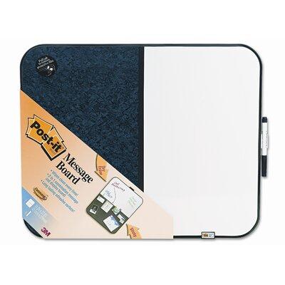 3M Post-It Self-Stick/Dry Erase Wall Mounted Combination Whiteboard, 2' x 2'