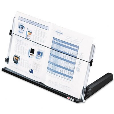 3M In-Line Freestanding Copyholder, Plastic, 300 Sheet Capacity
