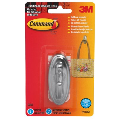 3M Command Traditional Hook
