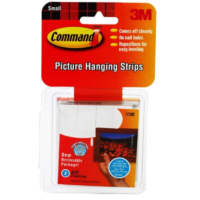 3M Small Command Picture Hanging Strip