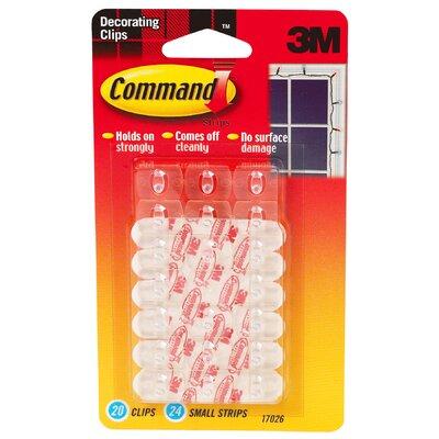 3M Command Decorating Clip (20 Count)