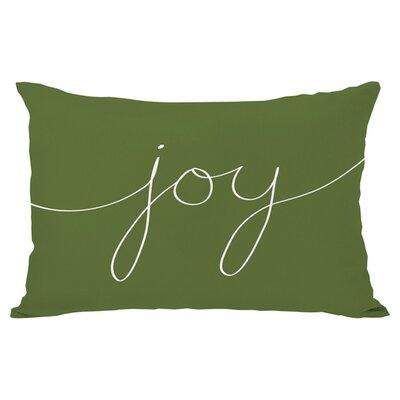 One Bella Casa Holiday Joy Mix and Match Lumbar Pillow
