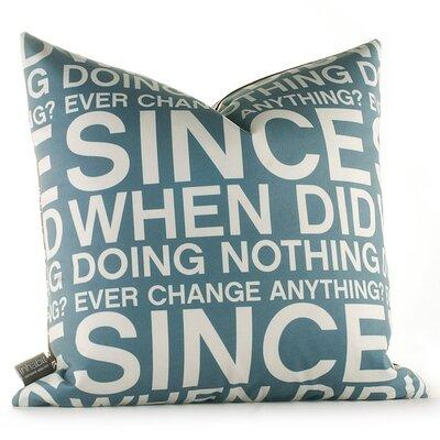 Inhabit Graphic Pillows Since When Throw Pillow