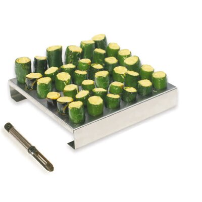 Jalapeno Rack with Corer by King Kooker