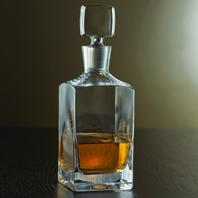 Metropolitan Whiskey Decanter by Wine Enthusiast Companies
