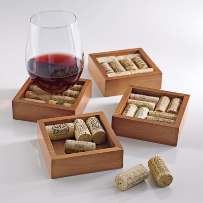 Wine Cork Coasters Kit by Wine Enthusiast Companies
