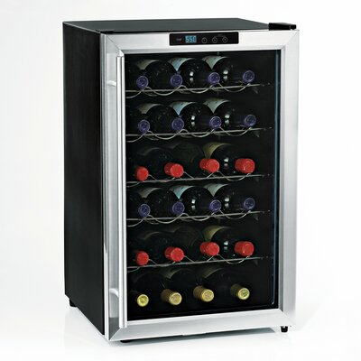 Silent Series 28 Bottle Single Zone Free-Standing Wine Refrigerator by Wine Enthusiast Companies