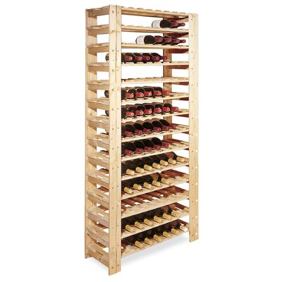 Swedish 126 Bottle Wine Rack by Wine Enthusiast Companies