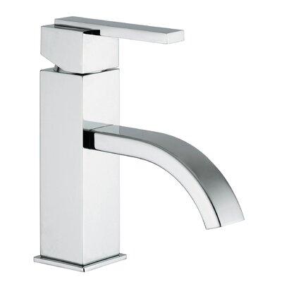 Jewel Faucets J15 Bath Series Single Lever Handle Bathroom Faucet with Classic Ribbon Spout