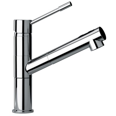 J25 Kitchen Series Modern Single Lever Handle One Hole Kitchen Faucet by Jewel Faucets