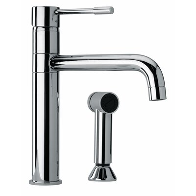 single hole kitchen faucet with sprayer faucets j25 kitchen series modern single lever 27462