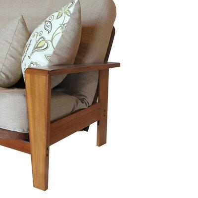 milano cream microsuede sofa