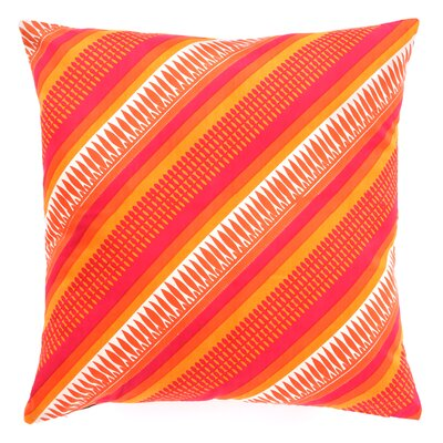 Sunrise Decorative Cotton Throw Pillow by Divine Designs